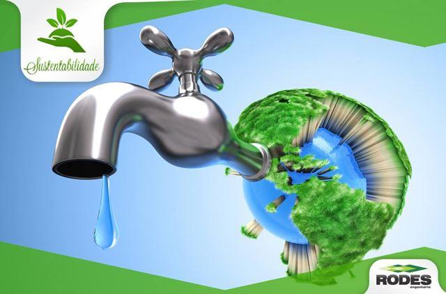 desperdicio de água